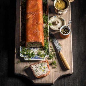 Terrina de salmón ahumado
