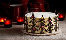 tarta navidad chocolate
