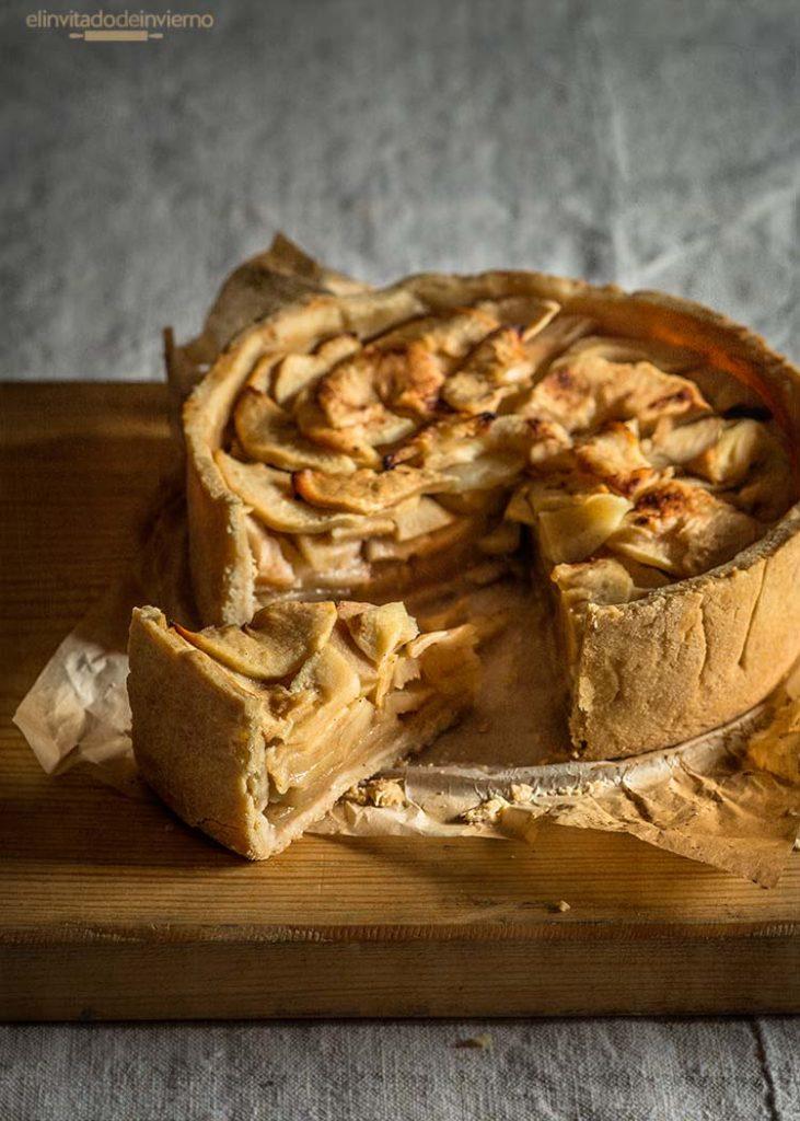 tarta manzana rustica