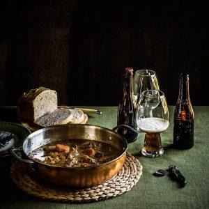Estofado de carne con cerveza, carbonade flamande