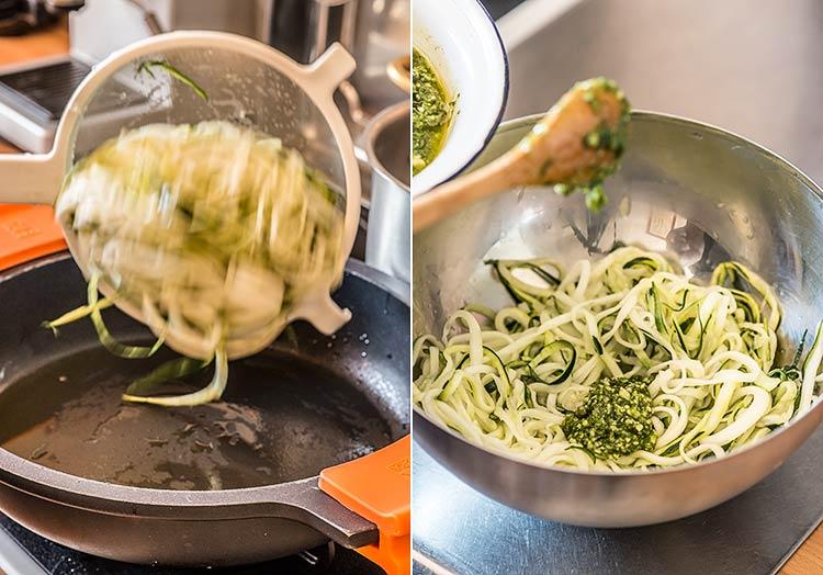 espaguetis calabacin