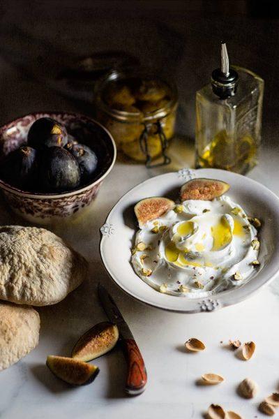 Labneh casero, queso de yogur