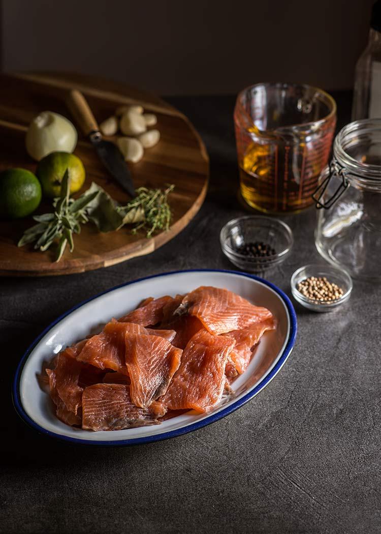salmon aceite