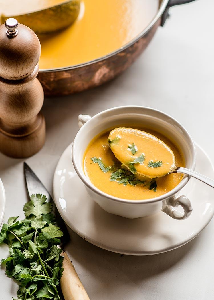 crema zanahorias vegana