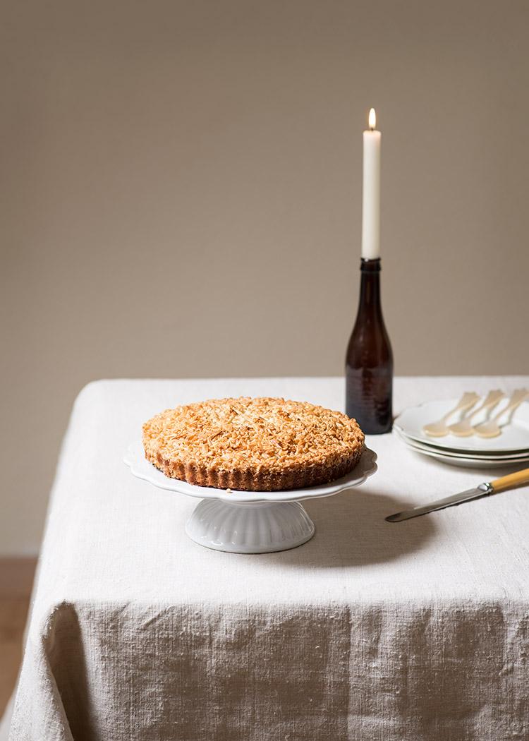 tarta almendra portuguesa