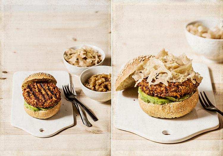 hamburguesas vegetarianas judias