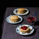 Tortitas de chía y limón