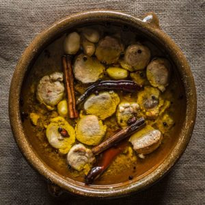 receta cerdo escabeche especias