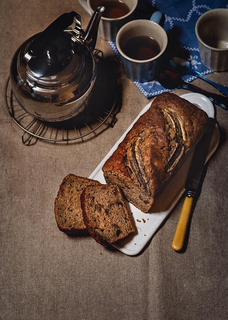 receta banana bread pan platano