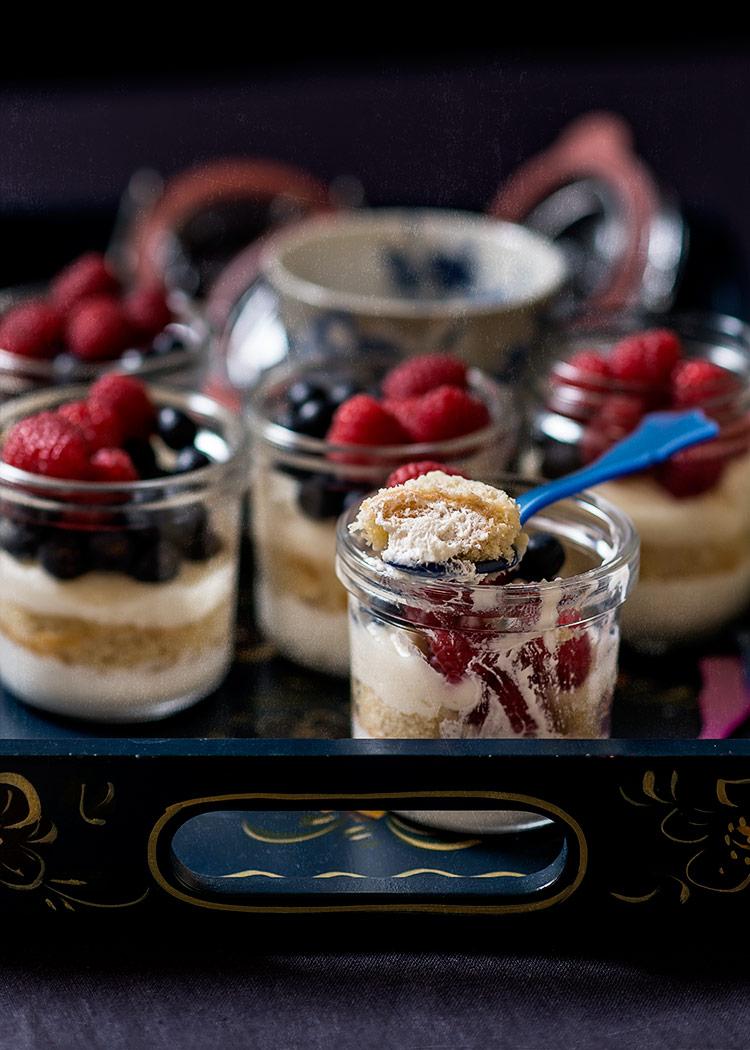 receta goxua vasitos frutos rojos