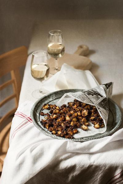 receta coliflor crujiente palomitas