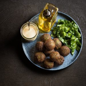 receta falafel espinacas