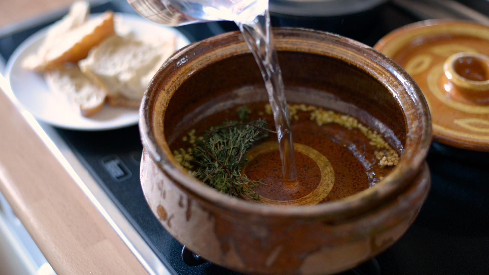 receta sopa tomillo farigola