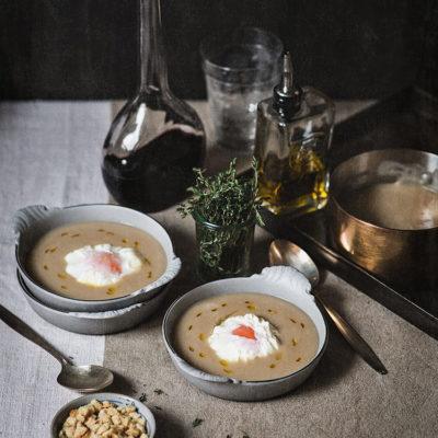 Sopa de tomillo o farigola