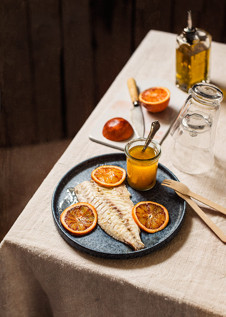 receta escabeche besugo naranja