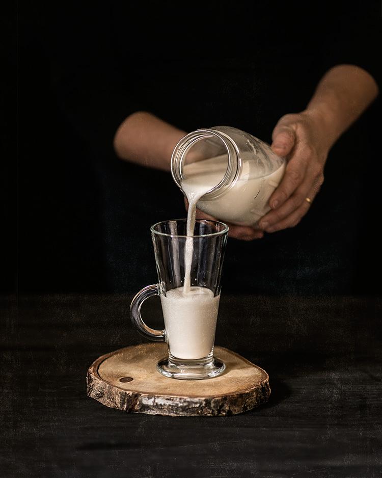 receta leche almendras