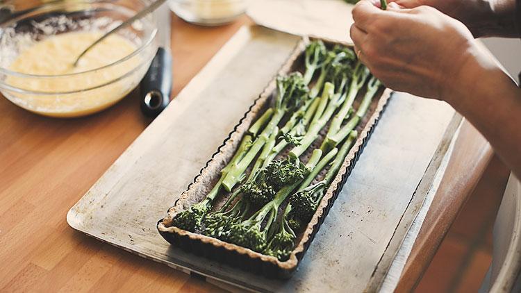 receta quiche integral verduras