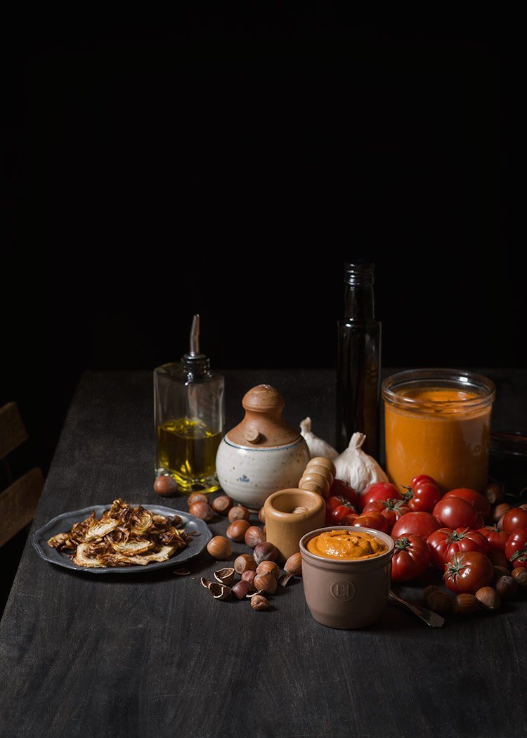 receta salsa romesco
