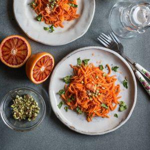receta ensalada marroqui zanahoria