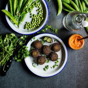 receta falafel guisantes