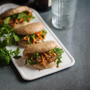 receta panecillos gua bao integrales
