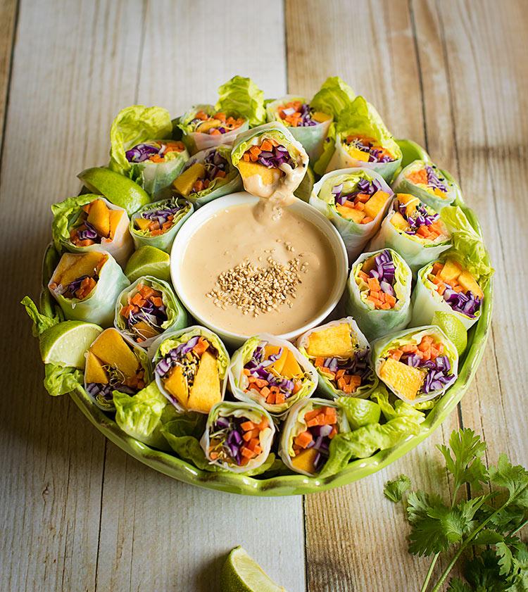 receta rollitos vietnamitas
