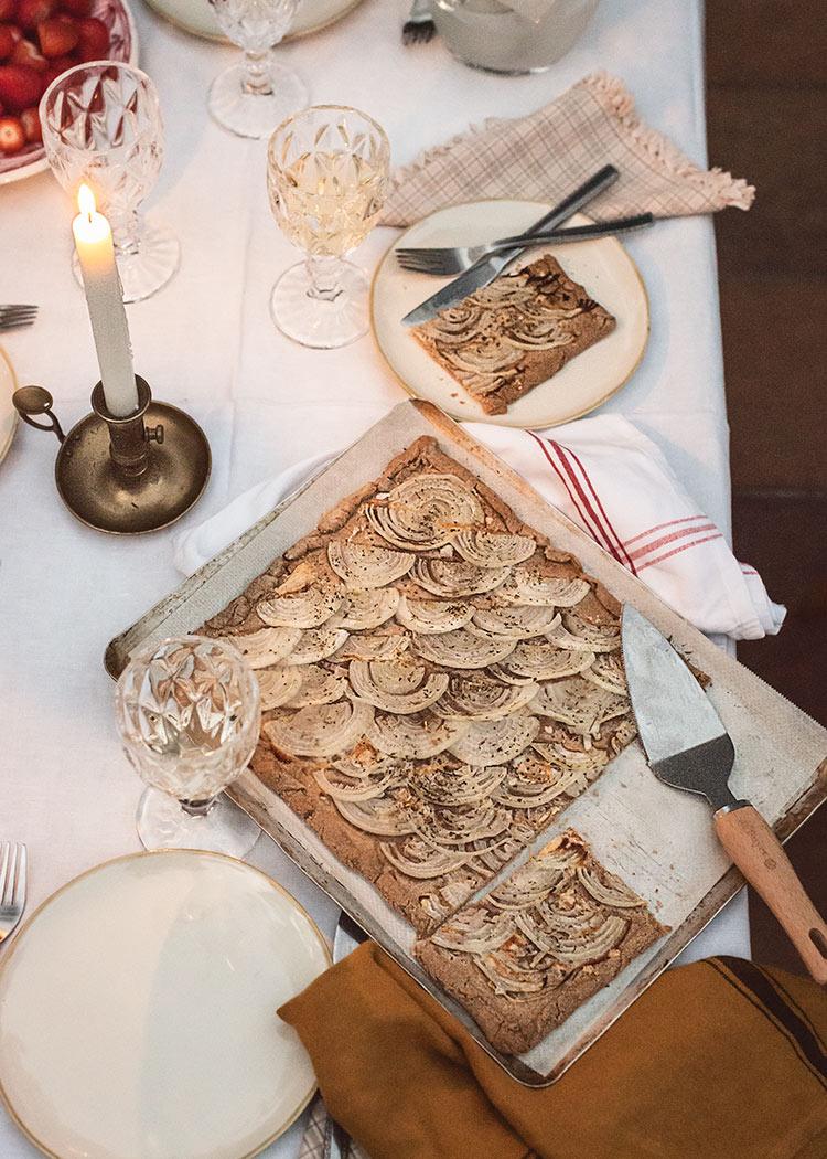 receta tarta cebolla