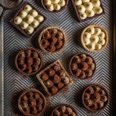 Tartaletas de mascarpone