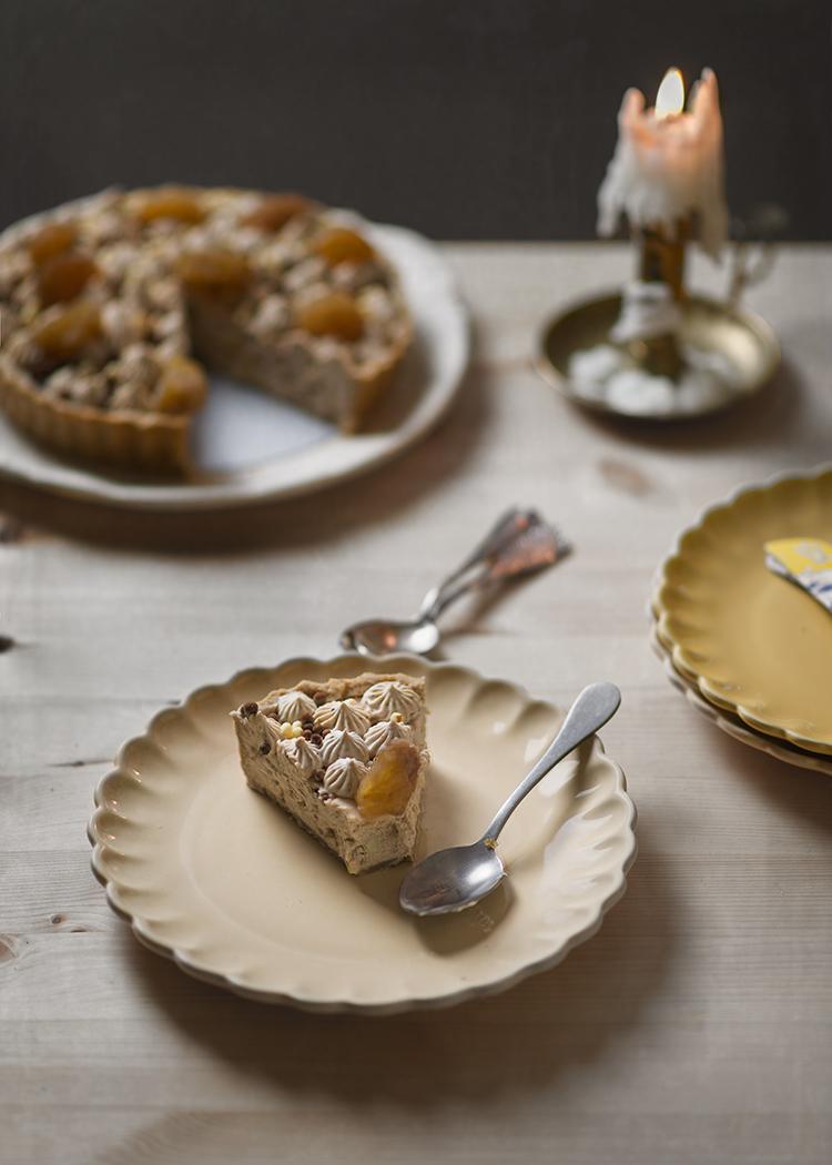 receta tarta castana