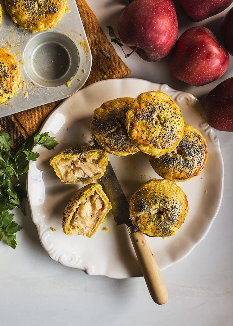 receta tartitas manchego manzana