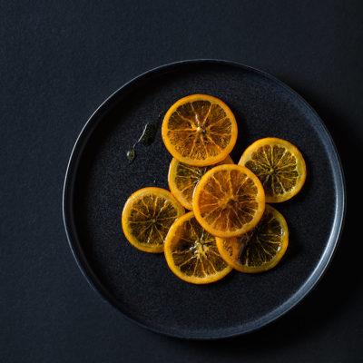 Naranja confitada: cómo se hace
