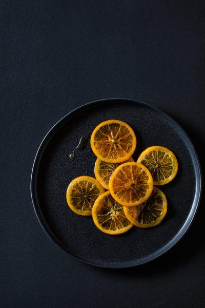 como hacer naranjas confitadas
