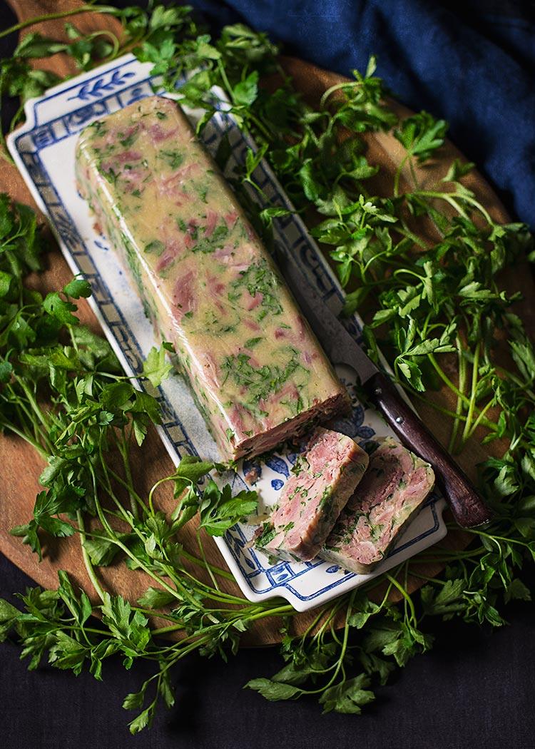 receta terrina codillo cerdo