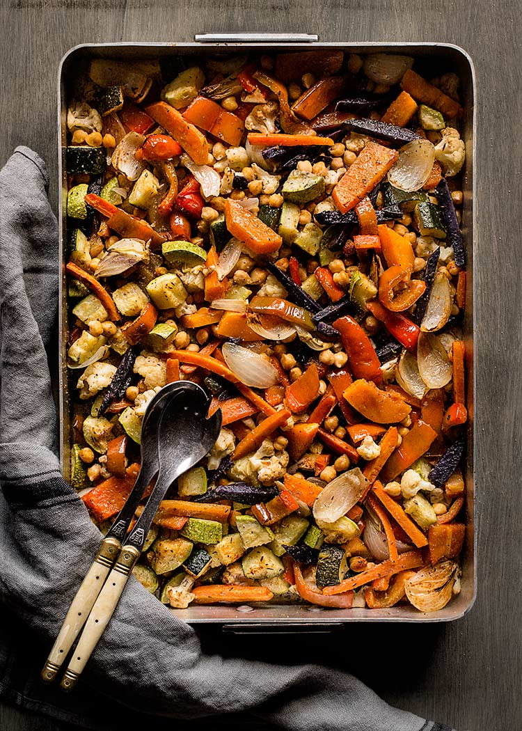 receta verduras horno especias