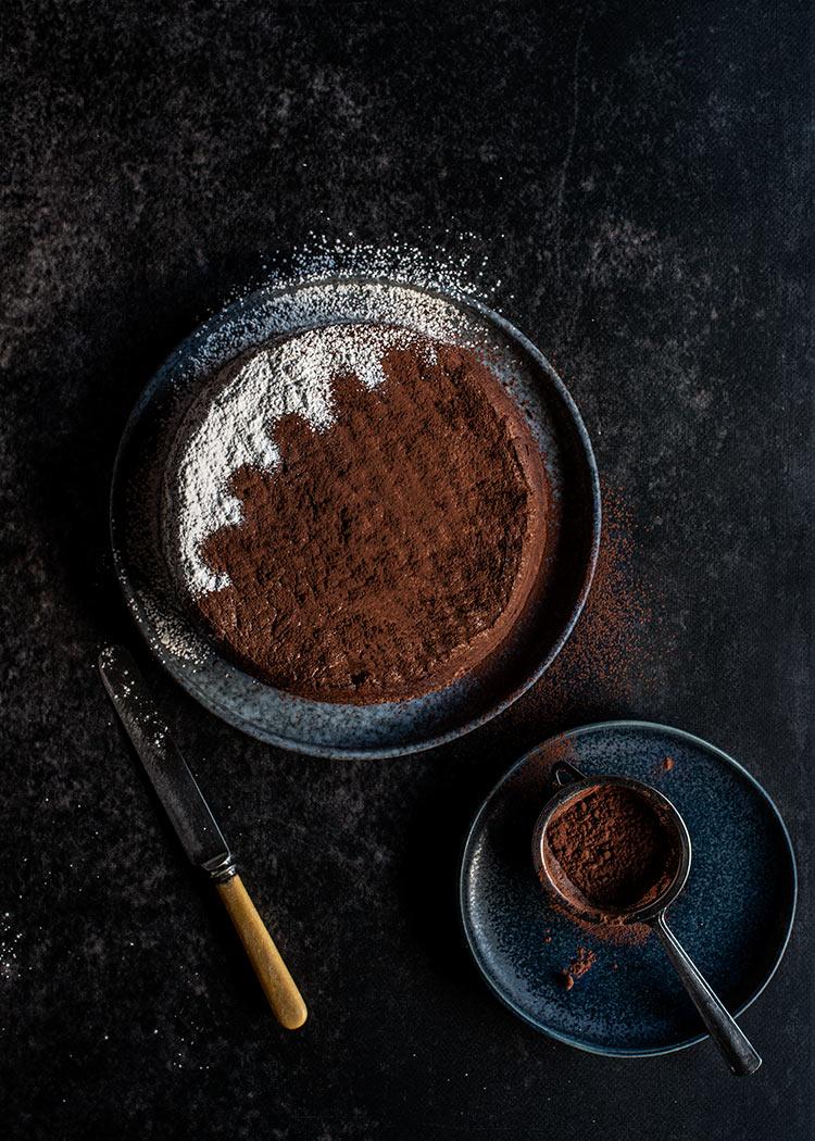 receta tarta chocolate sin harina