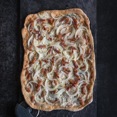 receta tarte flambee flammekuechen