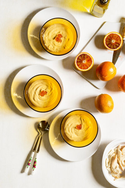 receta porra naranja antequera