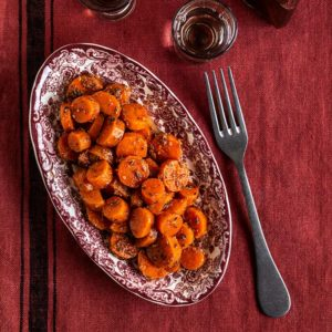 receta zanahorias alinadas