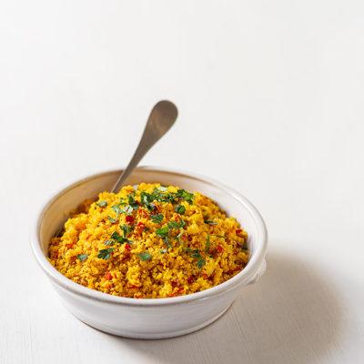 receta cuscus coliflor