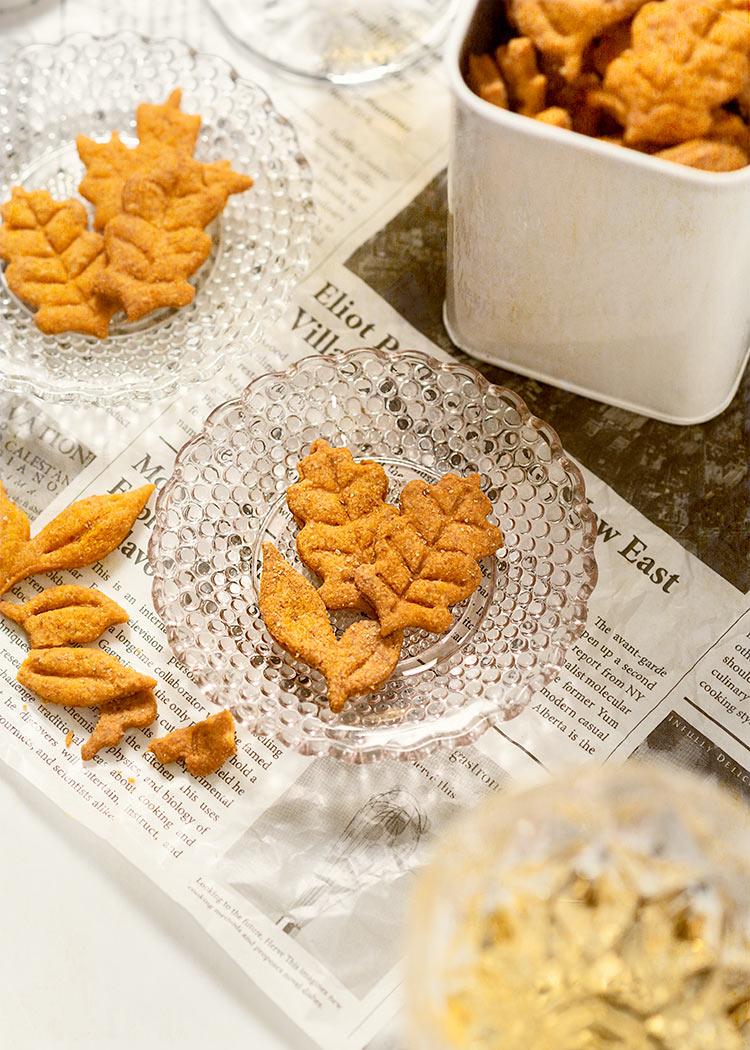 receta crackers otono