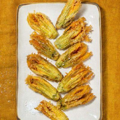 receta flores calabacin fritas