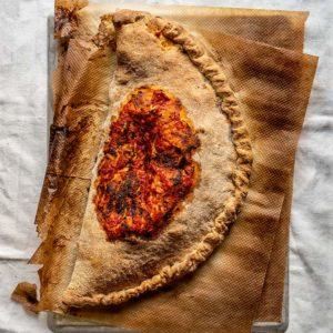 receta pizza calzone casera