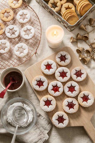 receta galletas linzer