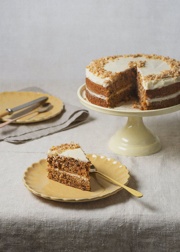 receta tarta zanahoria carrot cake