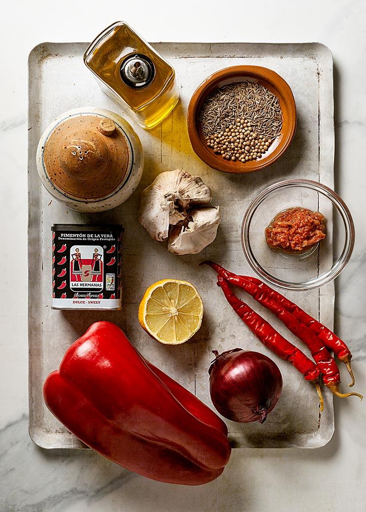 receta salsa harissa