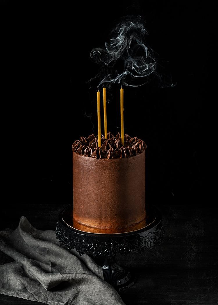 receta tarta chocolate vainilla