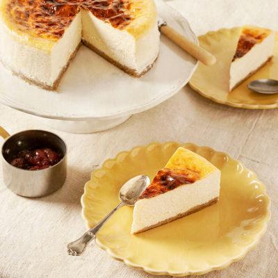 Tarta de queso a la New York