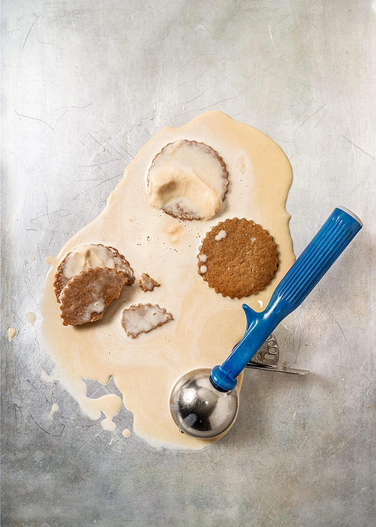 receta galletas sandwich helado