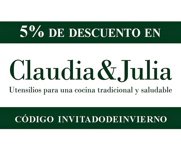 descuento claudia-julia