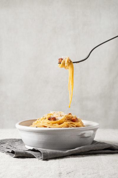 receta pasta carbonara